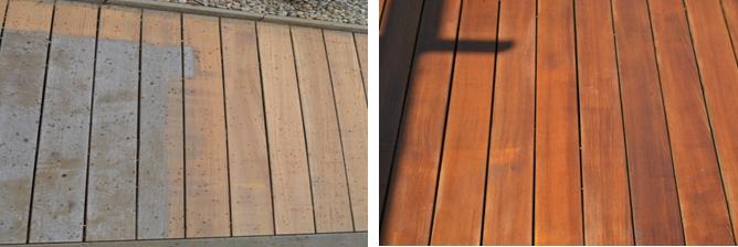 SAICOS - Služba renovace teras - ukázka